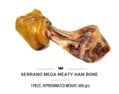 Codillo de jamón para perros. Ham mega bone for dogs