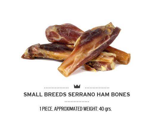 Huesito de jamón serrano para perros. Small ham bones for dogs