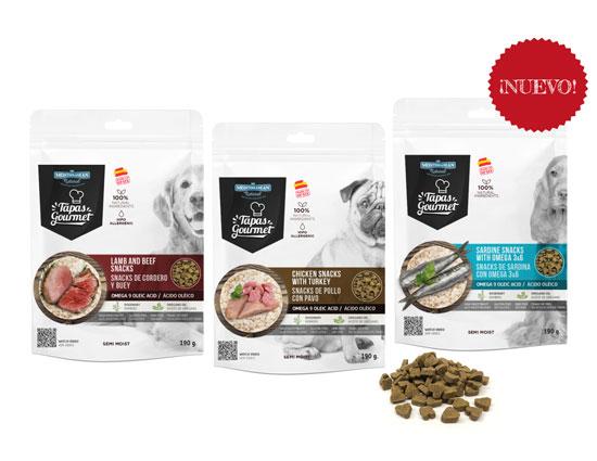 Tapas Gourmet de Mediterranean Natural para perros