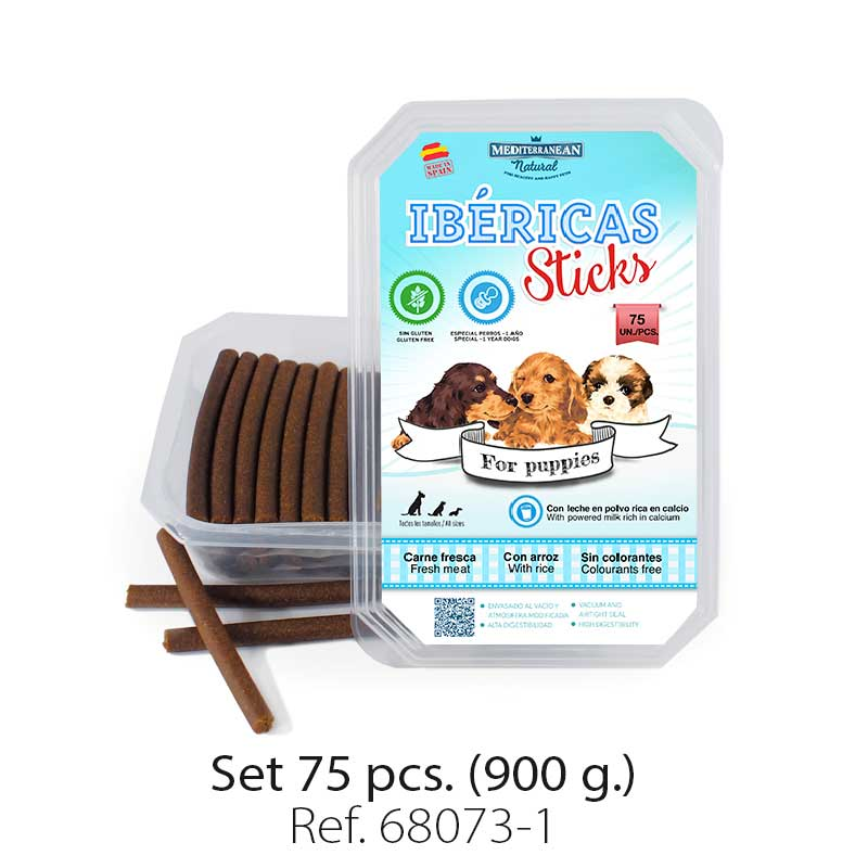 Barritas (ibéricas sticks) para cachorros. Sticks for puppies.