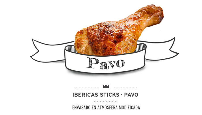 Barritas (ibéricas sticks) de pavo para perros. Turkey sticks for dogs.