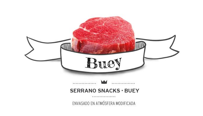 Serrano snacks de buey (ternera) para perros. Beef serrano snacks for dogs.