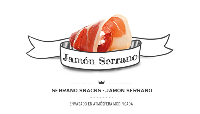 Serrano snacks sabor jamón serrano para perros. Serrano snacks ham flavour for dogs.