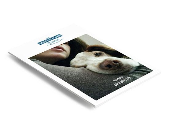 Catálogo ham bones para perros 2016.