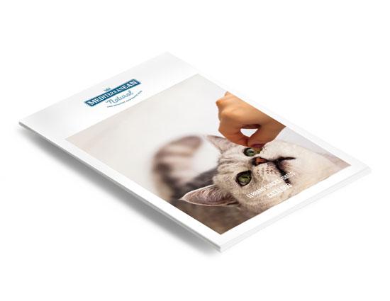 Catálogo Serrano Snacks: snacks anti bolas de pelo para gatos de Mediterranean Natural