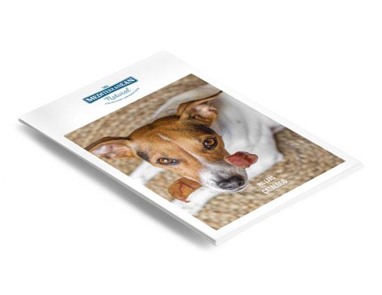 Catálogo Pig Ears: orejas de cerdo para perros de Mediterranean Natural