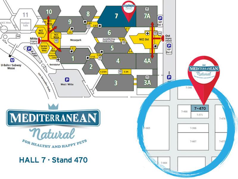 Mediterranean Natural estará en Interzoo 2016. Pabellón 7 stand 470