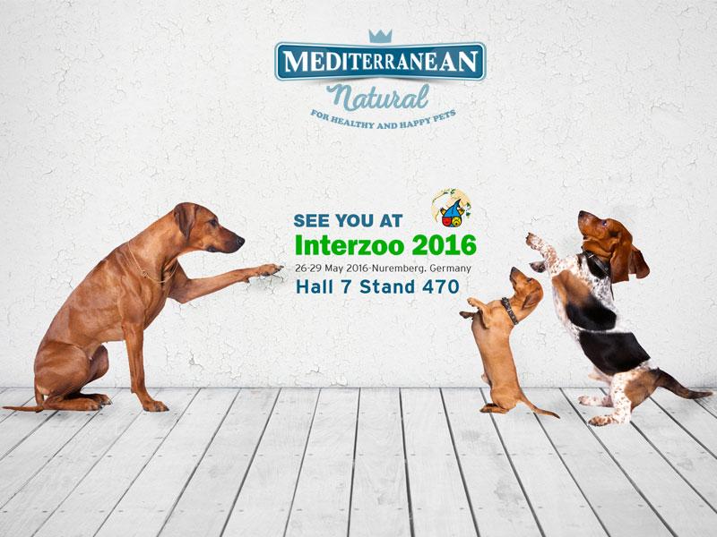 Mediterranean Natural estará en Interzoo 2016. Nuremberg (Alemania)