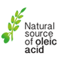 Natural source of oleic acid products for dogs