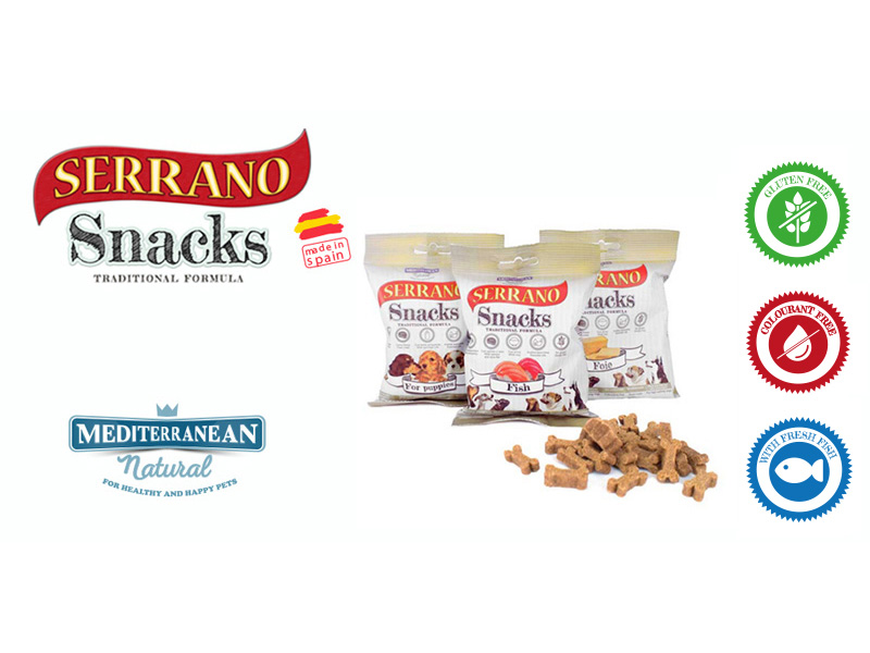 Serrano Snacks fresh fish for dogs