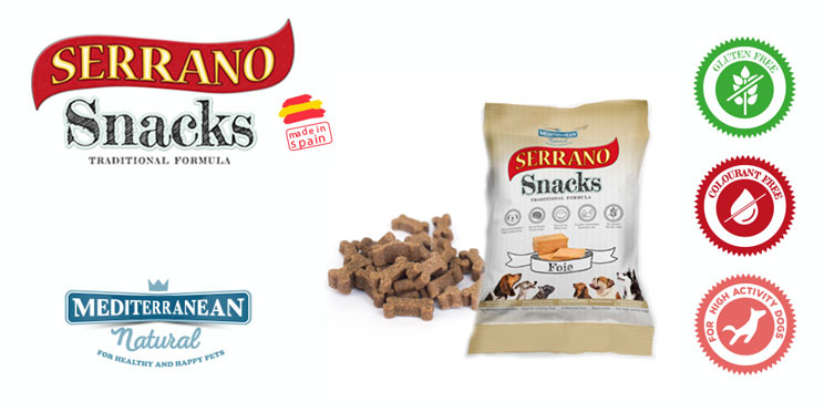 Snacks for dogs with high activity