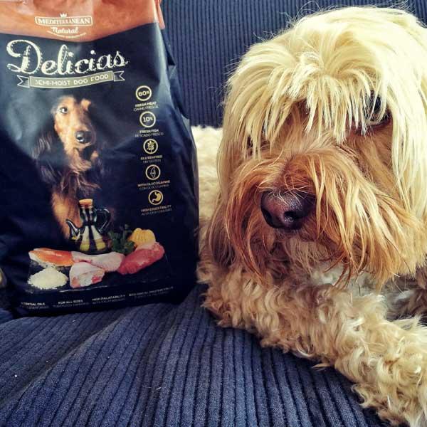 Delicias: pienso semi húmedo para perros de lo más natural. El Blog de Uma