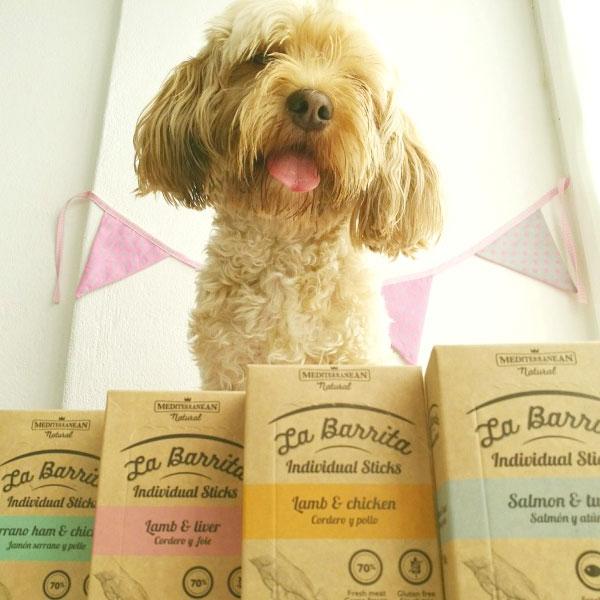 Premios naturales y deliciosos para perros en forma de barritas. Mediterranean Natural. El Blog de Uma