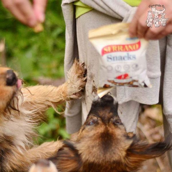 Redes sociales: Comando G Galicia y Serrano Snacks