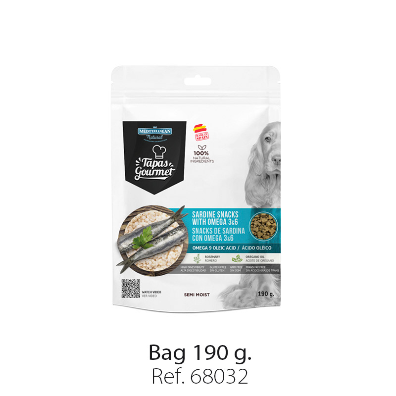 Tapas Gourmet Mediterranean Natural for dogs sardine