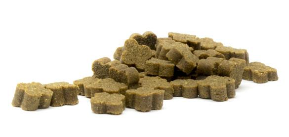 Snacks funcionales semi húmedos para perros de Mediterranean Natural