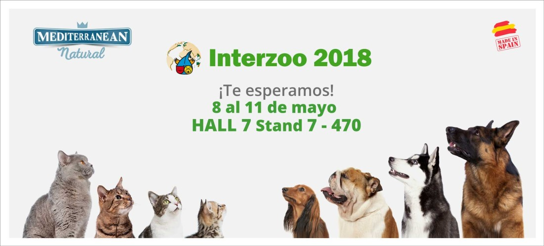 Mediterranean Natural en Interzoo 2018