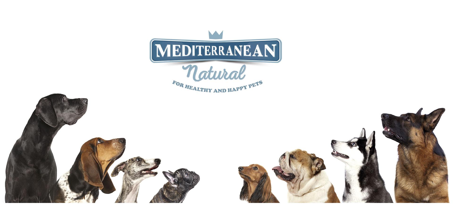 Snacks para perros Mediterranean Natural. Fabricados en España