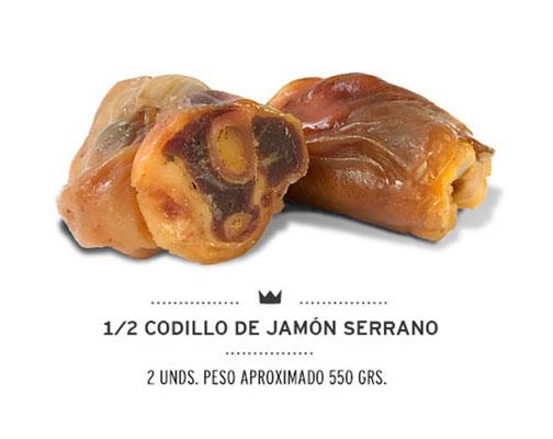 1/2 CODILLO de jamón serrano para perros de Mediterranean Natural