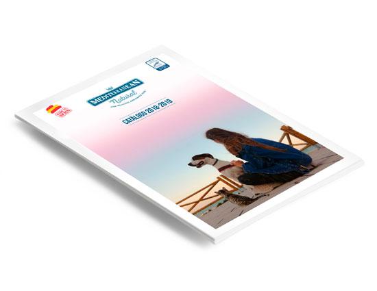 Catálogo 2018-2019 Mediterranean Natural. Productos para perros y gatos