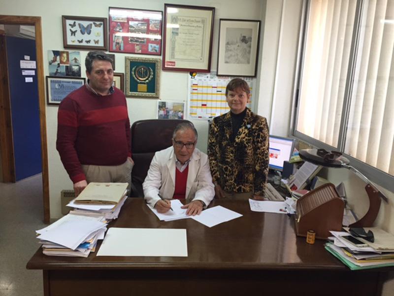 La Universidad de Murcia y Mediterranean Natural Firman un convenio de colaboración
