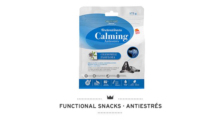 Functional Snacks para perros de Mediterranean Natural: funcionales para la ansiedad