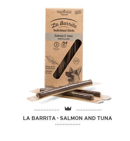 La-Barrita-of-Mediterranean-Natural-for-dogs-salmon-and-tuna-sticks