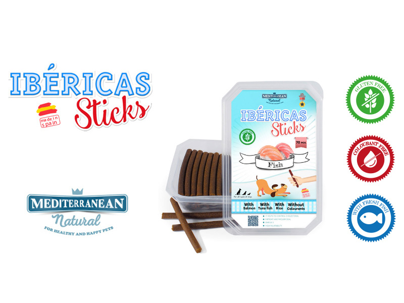 Ibericas Sticks fresh fish treats for dogs