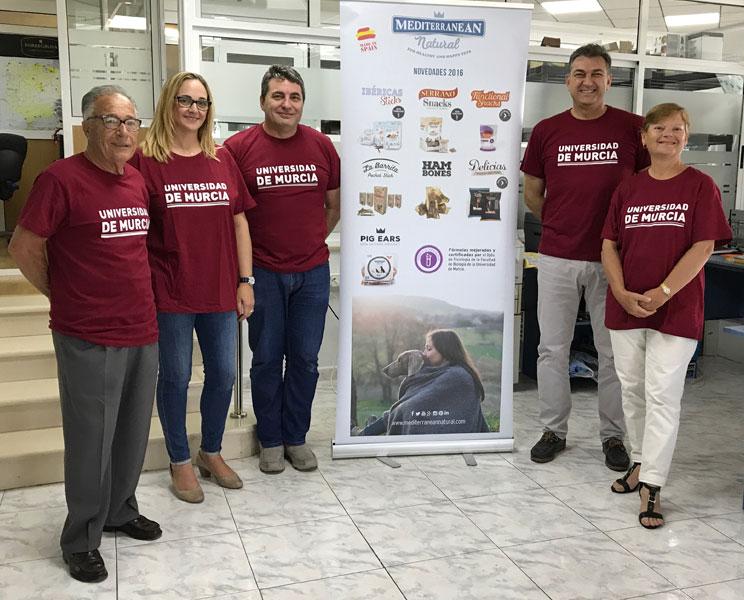 Acuerdo de colaboración con la Universidad de Murcia: Dra. María José Frutos Fernández