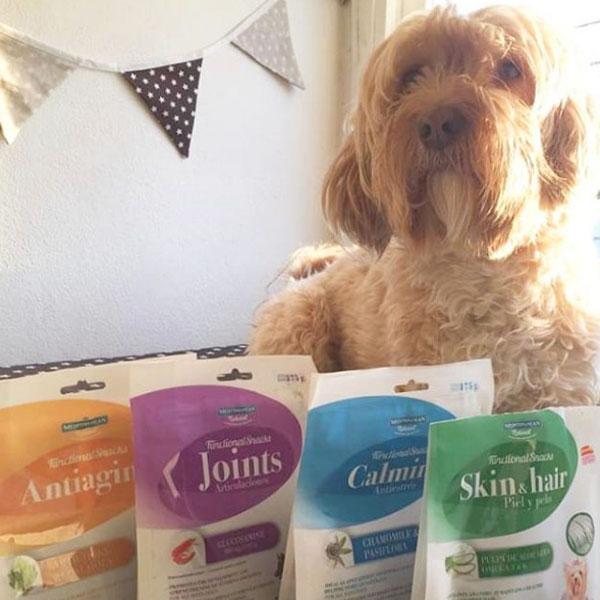El Blog de Uma y Functional Snacks de Mediterranean Natural para perros