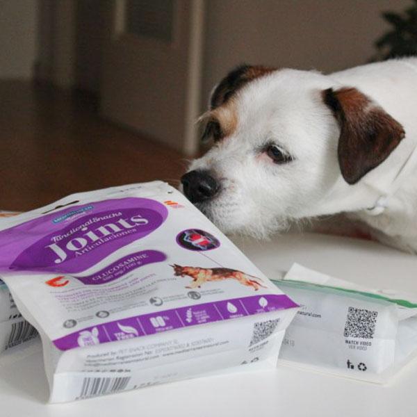 La Vida con Pancho y Functional Snacks para perros de Mediterranean Natural
