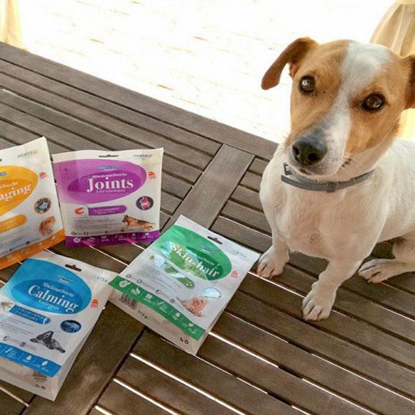 Sitandplas y Functional Snacks para perros de Mediterranean Natural