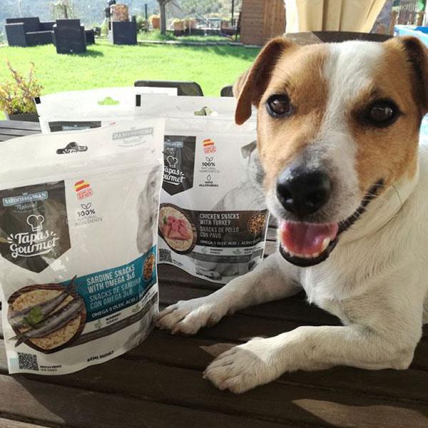 Sitandplas y Tapas Gourmet para perros de Mediterranean Natural