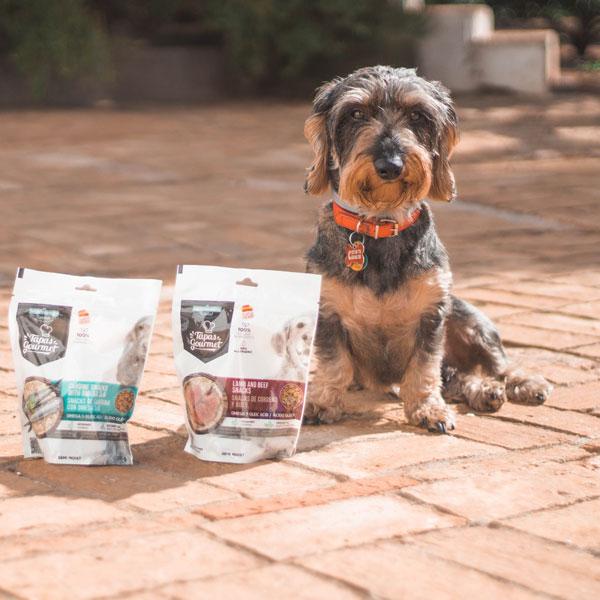 Con Perros y a lo Loco y Tapas Gourmet para perros