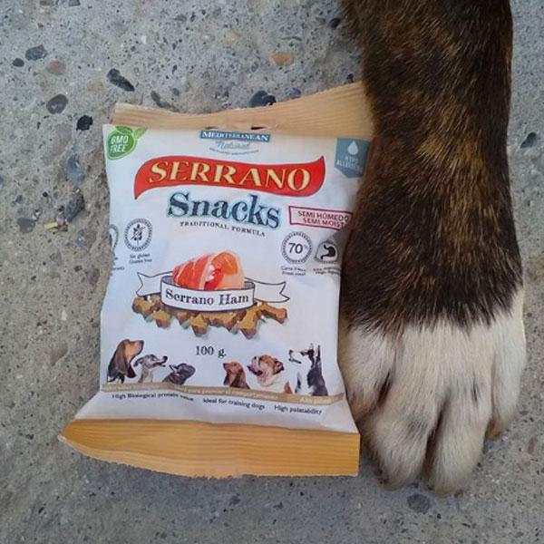 Toby y sus Tobycornios y Serrano Snacks de Mediterranean Natural