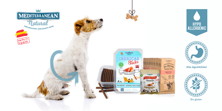 Snacks hipoalergénicos para perros