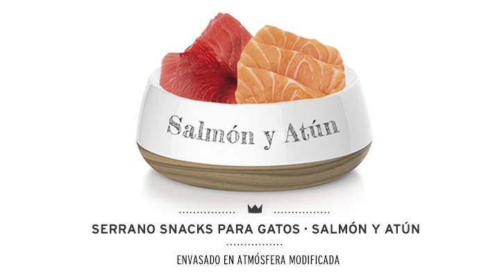 Snacks para gatos Mediterranean Natural antihairball con salmón y atún