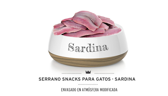 Snacks para gatos Mediterranean Natural antihairball con sardina