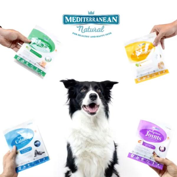 Fil y Functional Snacks de Mediterranean Natural para perros