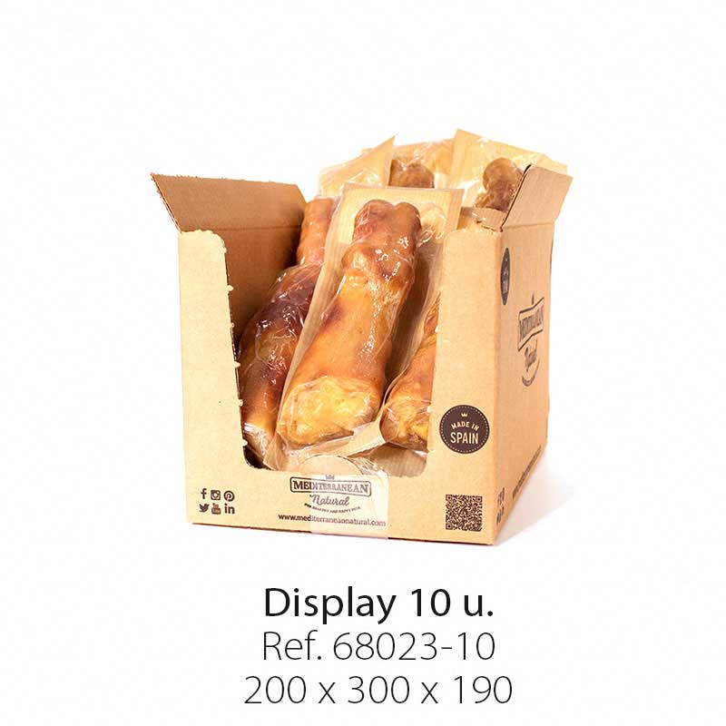 Display 10 units Serrano ham trotter Mediterranean Natural for dogs