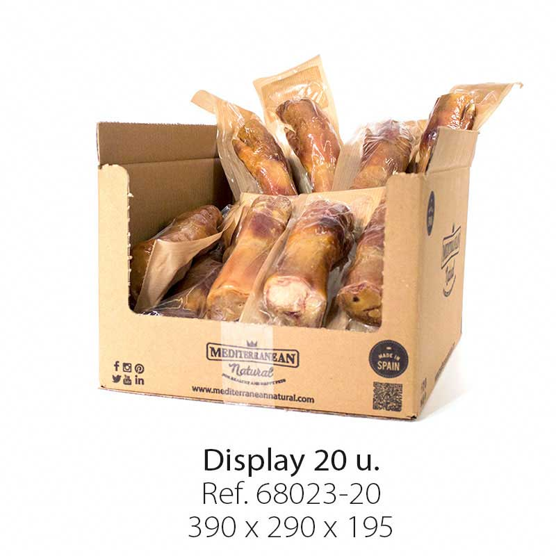 Display 20 units Serrano Ham Trotter Mediterranean Natural for dogs