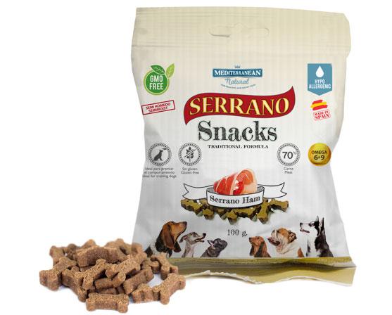 Serrano Snacks jamón serrano para perros de Mediterranean Natural