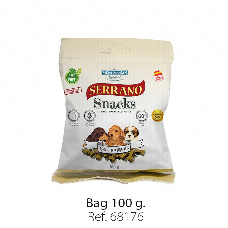 Serrano Snacks semi moist for puppies