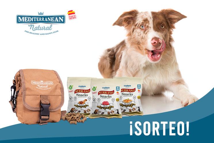 Sorteo Febrero 2020: ¡Llévate gratis una mochila porta chuches y los 8 sabores de Serrano Snacks de Mediterranean Natural!