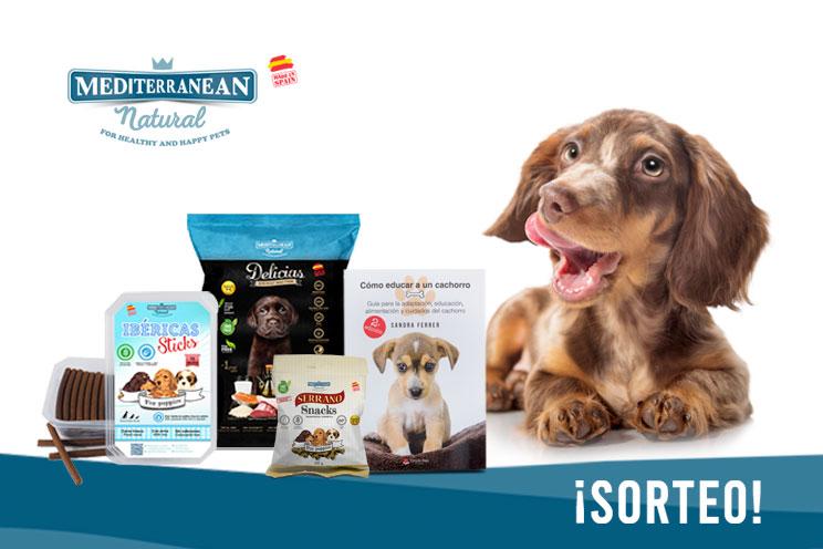 Sorteo: ¡Llévate gratis un lote de nuestros productos para cachorros y este manual!