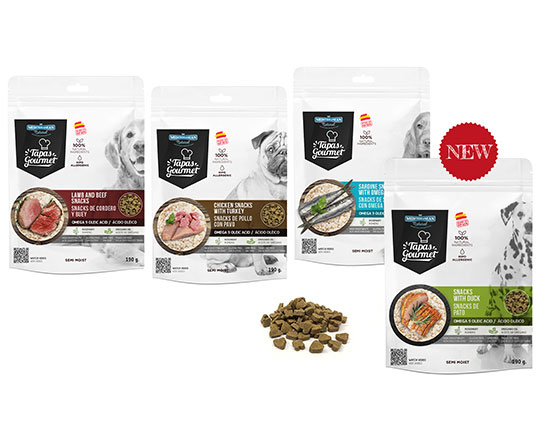 Tapas Gourmet for dogs of Mediterranean Natural