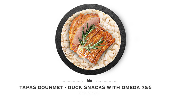 Duck snacks for dogs Mediterranean Natural