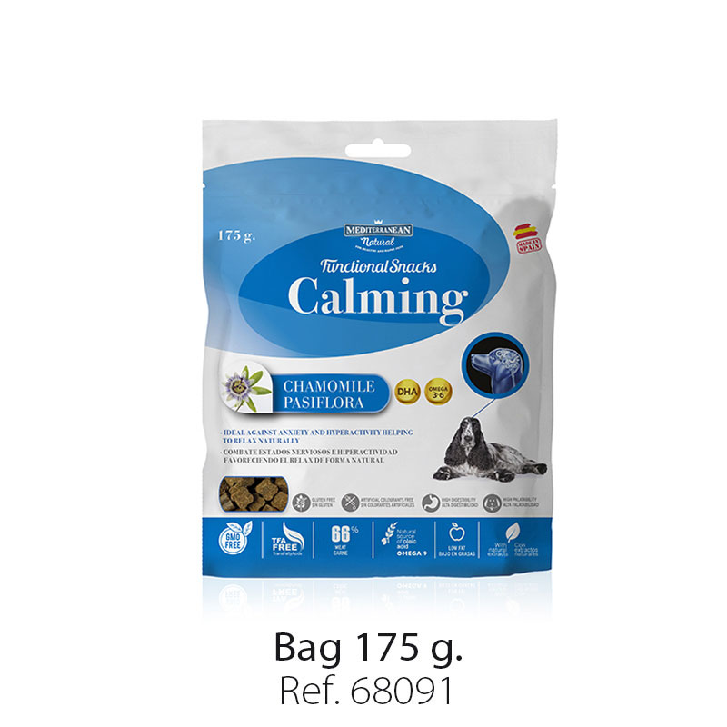 Bag Functional Snacks calming for dogs Mediterranean Natural