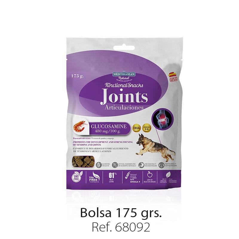 Bolsa snacks funcionales articulaciones para perros Mediterranean Natural