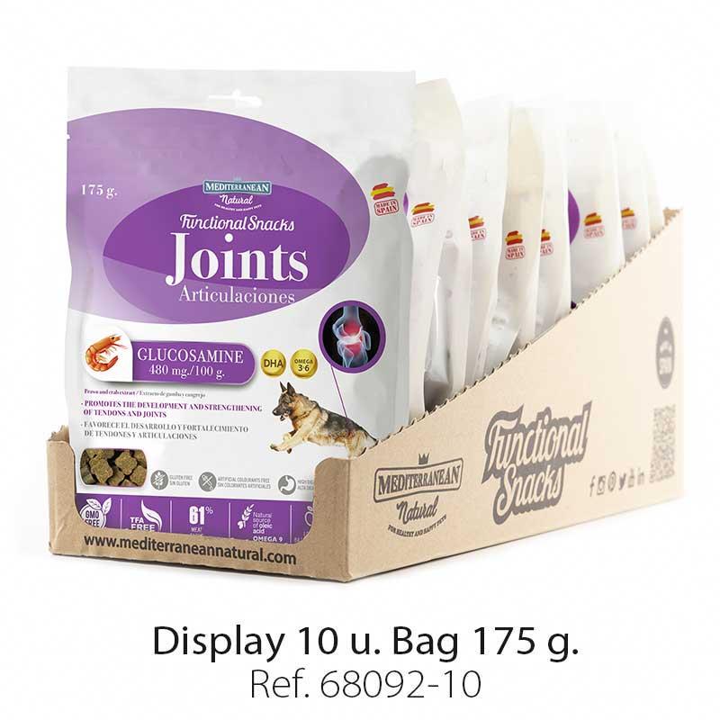 Display Functional Snacks joints Mediterranean Natural